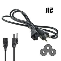 5ft 3 Prong AC Power Cord Cable for TV LG LED LCD Smart HDTV