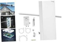 ANTOP HDTV Antenna with Smart Boost System,Indoor/Outdoor Mu