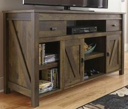 """Rustic TV Stand Console Up To 60"""" Barn Wood Farmhouse Home E"""