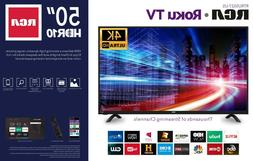 SMART HD 50 INCH RCA TV ROKU  HIGE SALE TODAY ONLY $100 OFF